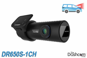 BlackVue DR650S-1CH Cloud-Capable 1080p Full HD Single Lens Dash Cam with WiFi, GPS, motion detection | For Front-Facing Recording