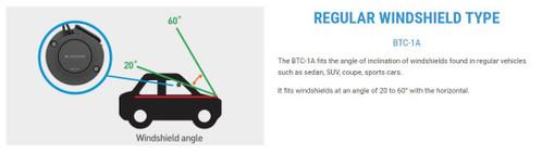 BlackVue Tamper-Proof Cover for DR550/650 Front Dash Cam | Passenger Car/Truck/SUV version BTC-1A