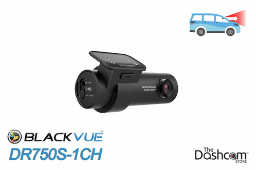 BlackVue DR750S-1CH Dash Cam | For Front-Facing Video Recording