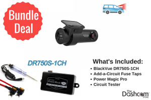 BlackVue DR750S-1CH Dash Cam DIY Bundle