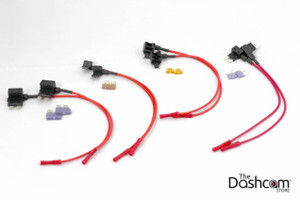 Fuse Tap Bundle for Dash Cam or Power Magic Pro Hardwired Installation | Includes All 8 Taps and Fuses As Shown