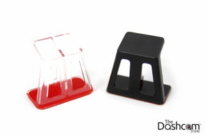 Custom Offset Bracket for BlackVue DR650S-2CH-IR Inside-facing Dashcam Lens | Available in Black or Clear