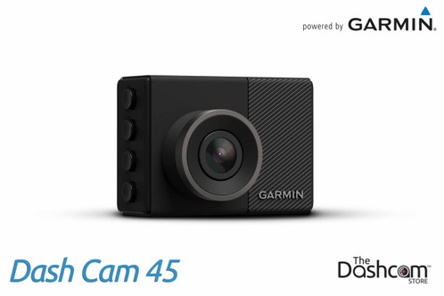 Garmin Dash Cam 45   1080p Single Lens Dashcam with GPS & WiFi
