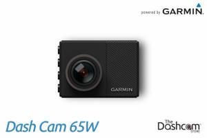 Garmin Dash Cam 65W | 1080p Super-Wide Angle Single Lens Dashcam