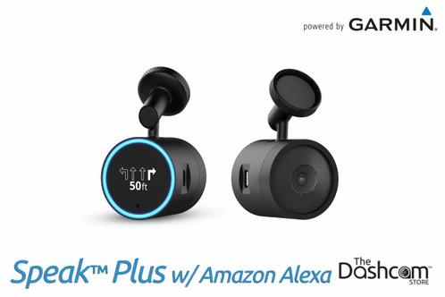 Garmin Speak™ Plus Dash Cam with Amazon Alexa