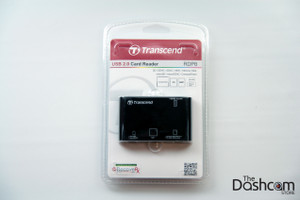 Transcend USB Memory Card Reader (RDP8) in retail packaging