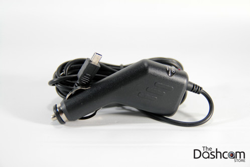 Dash Cam Mini USB cigarette lighter outlet power adapter cord
