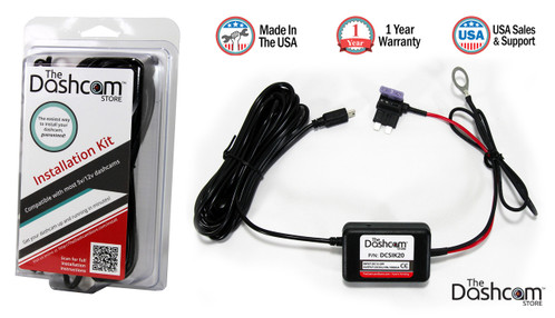 Dashcam Quick and Easy Installation Kit (Dash Cam Hardwire Kit) compatible with almost any dash cam