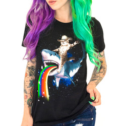 Bucking Sharkaroo Women's T-Shirt