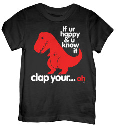 Toddler Sad T Rex T-Shirt
