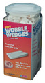 Std Wedge, Soft, 75 pcs, White