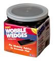 Std Wedge, Soft, 30 pcs, Black