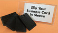 4-wedge Promotional Giveaway with clear sleeve for your business card