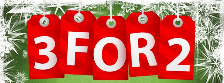 BrainSmart 3 For 2 Christmas Offer