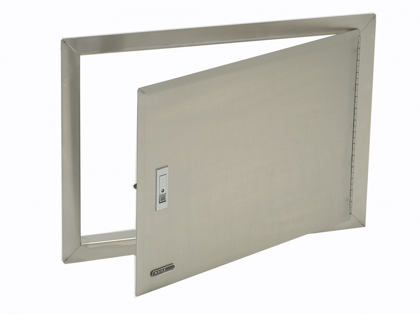 Steel Access Doors And Frames : Stainless steel access door with lock and frame