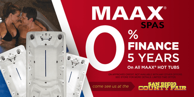 Maax Spas 0% Financing For  5 Years