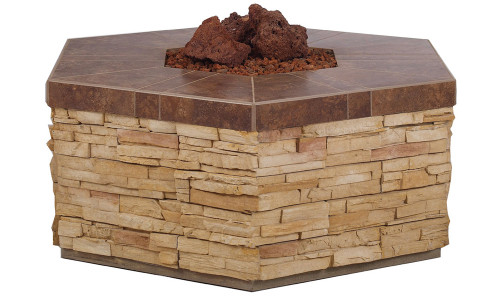 31035 Hexagon Fire Pit