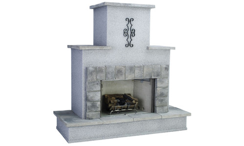 61002 Traditional Fireplace