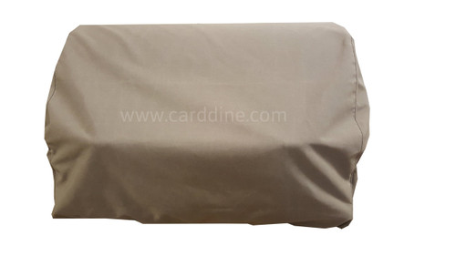 Sunbrella Fabric Grill Cover fits Angus, Lonestar Select, Outlaw, and Bison Bull BBQ Grills Heather Beige