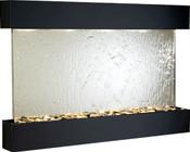 Adagio Sunrise Springs Mirror & Square Blackened Copper Frame Wall Fountain