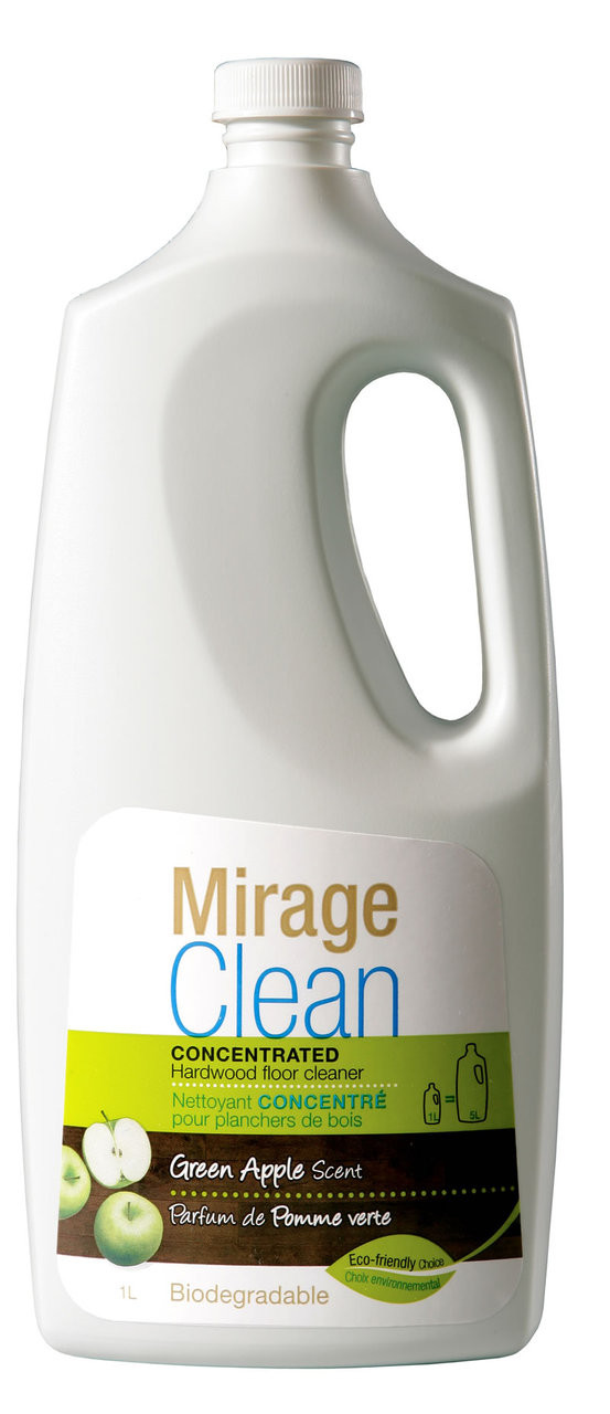 how to clean mirage floors