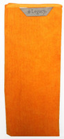 "Legacy 16"" x 28"" Orange Deluxe Extra Large Micro-Fiber"