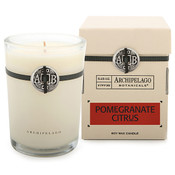 Archipelago Signature Collection Pomegranate Citrus Soy Candle in Box
