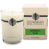 Archipelago Signature Collection Bamboo Teak Soy Candle in Box