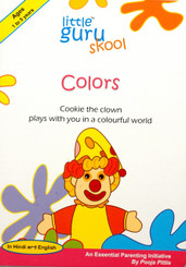 Colors - English/Hindi board book