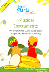 Musical Instruments - English/Hindi board book