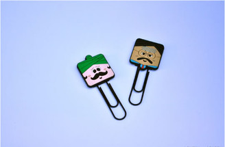 Bookmark / clips -  singh & pappy