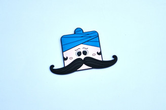 Moustache Dude-II Bendable Magnetic Hook