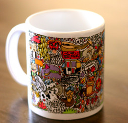 Chumbak everything Indian Coffee Mug
