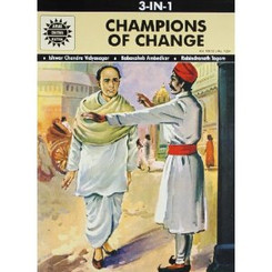 Amar Chitra Katha: Champions of Change (3 in 1 comic book)