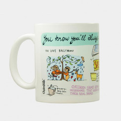 "Always Indian Mug (Chumbak) ""you love Bollywood"""