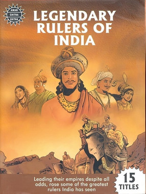 Legendary Rulers Of India ( 15 In 1 ) (Amar Chitra Katha)
