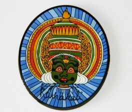 Chumbak: Kathakali face mask fridge magnet