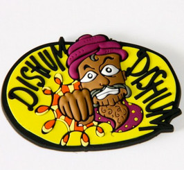 Chumbak: Dishum Dishum fridge magnet - indian man with red turban punching
