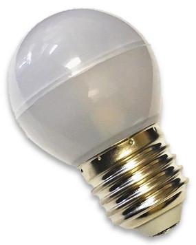 E26/27 Compact Edison Globe LED Replacement Bulb