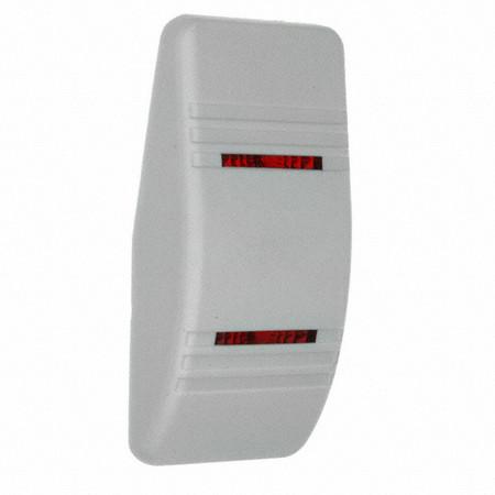 White, Hard, with 2 Red Slit Lenses