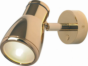 Munich LED with Gold Shade