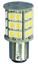 Ba15d Double Bayonet 30 smd LED Bulb