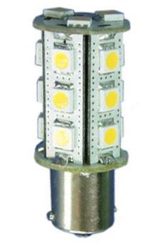 Ba15s Single Bayonet 18 smd LED Bulb Atlantic Marine Lighting