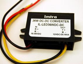 LED Converter: 15V-55V to 12V, 36W