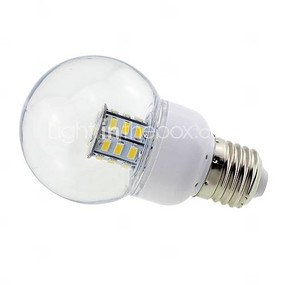 E27 4W Clear Cover Globe LED Bulbs