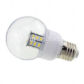 E27 4W Clear Cover Globe LED Bulbs