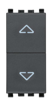 Vimar Eikon 3-Position Switch with Directional Arrows
