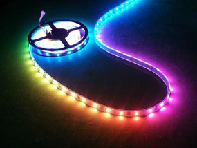 RGB LED Strip Tape, 16' Reel, IP66