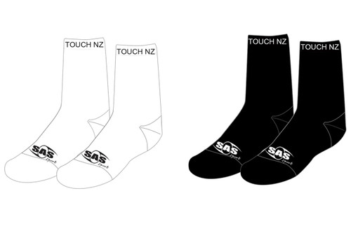 Touch NZ Crew Socks