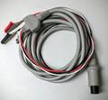 3 lead Nihon Kohden BC-753VA ECG EKG cable